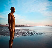 Waiting for the tide by RedMann