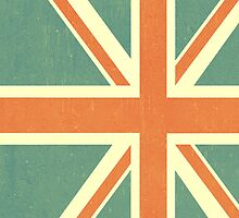 Faded Union Jack iPhone Case by Alexandra Grant