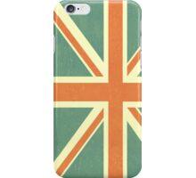 Faded Union Jack iPhone Case iPhone Case/Skin
