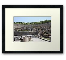 The Odeum: Backstage Framed Print