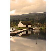 The boathouse Photographic Print