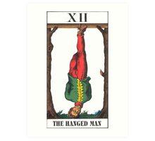 Hanged Man Tarot Art Print