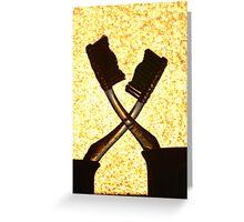 Bathroom Drama - The Fall Out Greeting Card