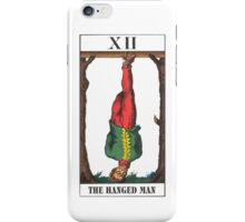 Hanged Man Tarot iPhone Case/Skin