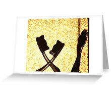 Bathroom Drama - Leaving Greeting Card