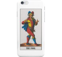 The Fool Tarot iPhone Case/Skin