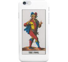 The Fool Tarot iPhone Case/Skin