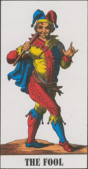The Fool Tarot by babydollchic