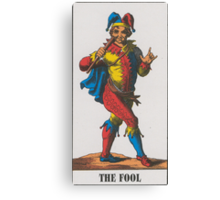 The Fool Tarot Canvas Print