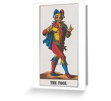 The Fool Tarot Greeting Card