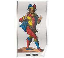 The Fool Tarot Poster