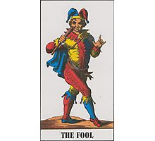 The Fool Tarot Photographic Print