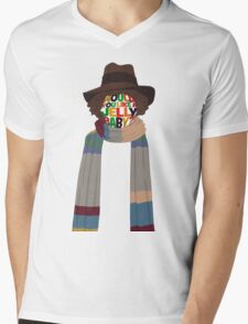 Would You Like A Jelly Baby? Mens V-Neck T-Shirt