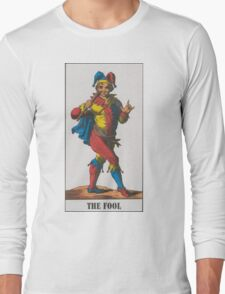 The Fool Tarot Long Sleeve T-Shirt