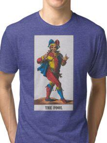 The Fool Tarot Tri-blend T-Shirt
