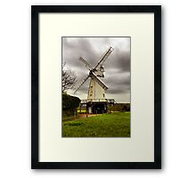 A stormy day Framed Print