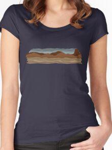 Desert Women's Fitted Scoop T-Shirt