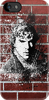 Sherlock Graffiti by SkinnyJoe