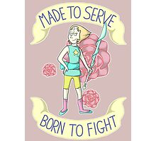 Pearl - Born To Fight Photographic Print