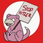 Slowpoke Protest by thelilnan
