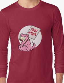 Slowpoke Protest Long Sleeve T-Shirt