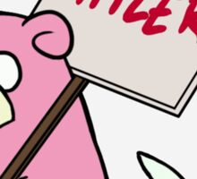 Slowpoke Protest Sticker