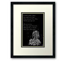 Kleiner Trost - Traumland Palme Framed Print