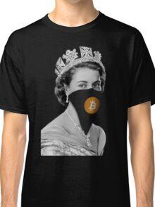 Queen Bitcoin Bandit Geek Classic T-Shirt
