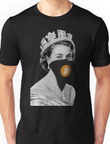 Queen Bitcoin Bandit Geek Unisex T-Shirt