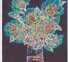 Neon Bouquet by Fred Jinkins