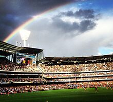 Footy In Melbourne by HarryHasapis