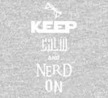 Nerd On - BSG, Trek, Potter, Hobbit Shirt One Piece - Long Sleeve