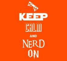 Nerd On - BSG, Trek, Potter, Hobbit Shirt Kids Tee