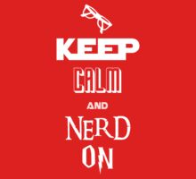 Nerd On - BSG, Trek, Potter, Hobbit Shirt by IG-HateyHate