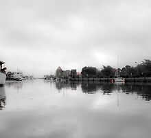 Greifswald Port, Germany by MMinakov