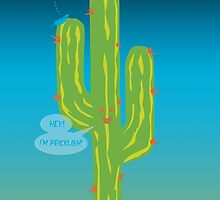 Pricklish cactus by puppaluppa