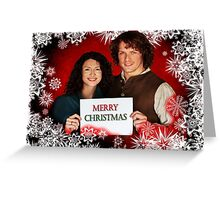 Outlander Xmas Greeting Card