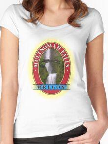 Multnomah Falls Columbia River Gorge Oregon Women's Fitted Scoop T-Shirt