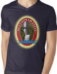 Multnomah Falls Columbia River Gorge Oregon Mens V-Neck T-Shirt