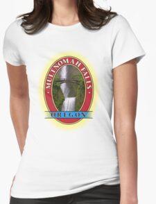 Multnomah Falls Columbia River Gorge Oregon Womens Fitted T-Shirt