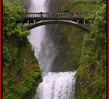 Multnomah Falls Columbia River Gorge Oregon by Gary Grayson
