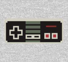 8 bit NES controller Kids Tee