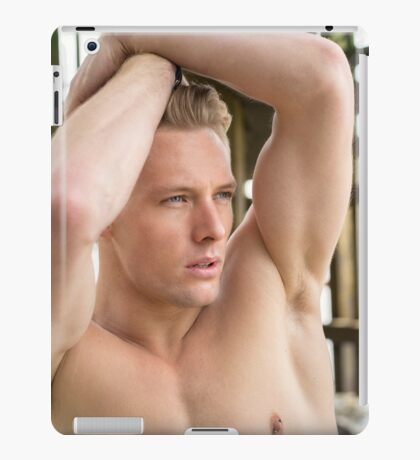 Muscle Beauty at Low Tide with Daniel iPad Case/Skin