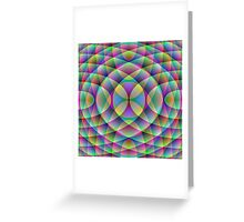 More Entangled Curves Greeting Card