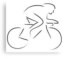 Crono bike Canvas Print