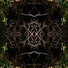 Autumn Leaves Mirrored by ZugArt