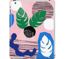 Damn Skippy - retro throwback memphis pop art neon pink pastel girly trendy hipster brooklyn socal iPad Case/Skin