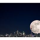 Super, Supermoon by RichardGottardo