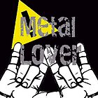 Metal Lovers iphone case by LiamCNye