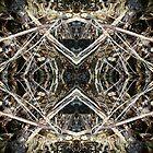 Winter Mirror Collage by ZugArt